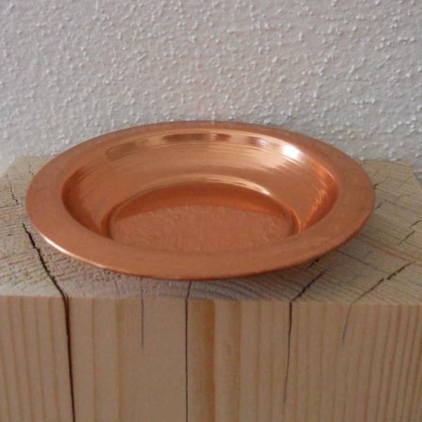 Räucherplatte Kupfer 9cm