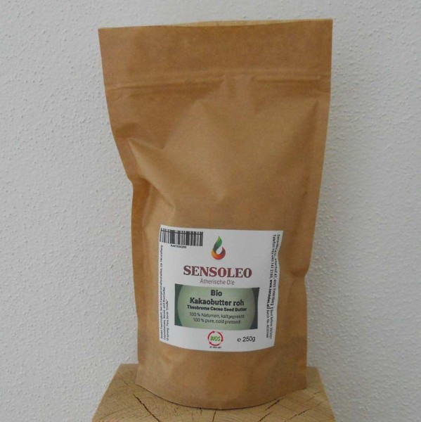 Kakaobutter Chips roh Bio 100g