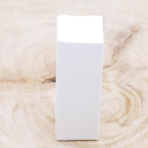 Karton weiß für 1ml Braunglasflasche
