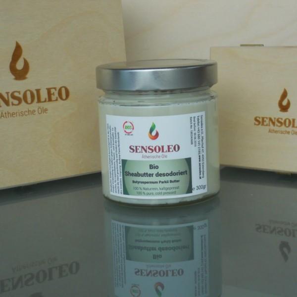 Sheabutter desodoriert Bio 100g