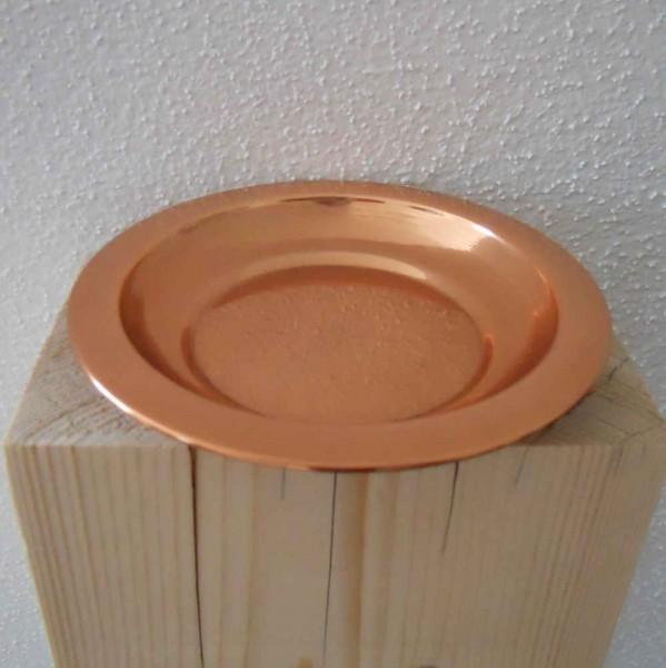 Räucherplatte Kupfer 12cm