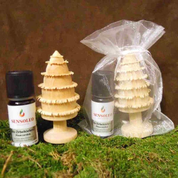 Geschenkset Zirbenbaum inkl. ätherisches Öl
